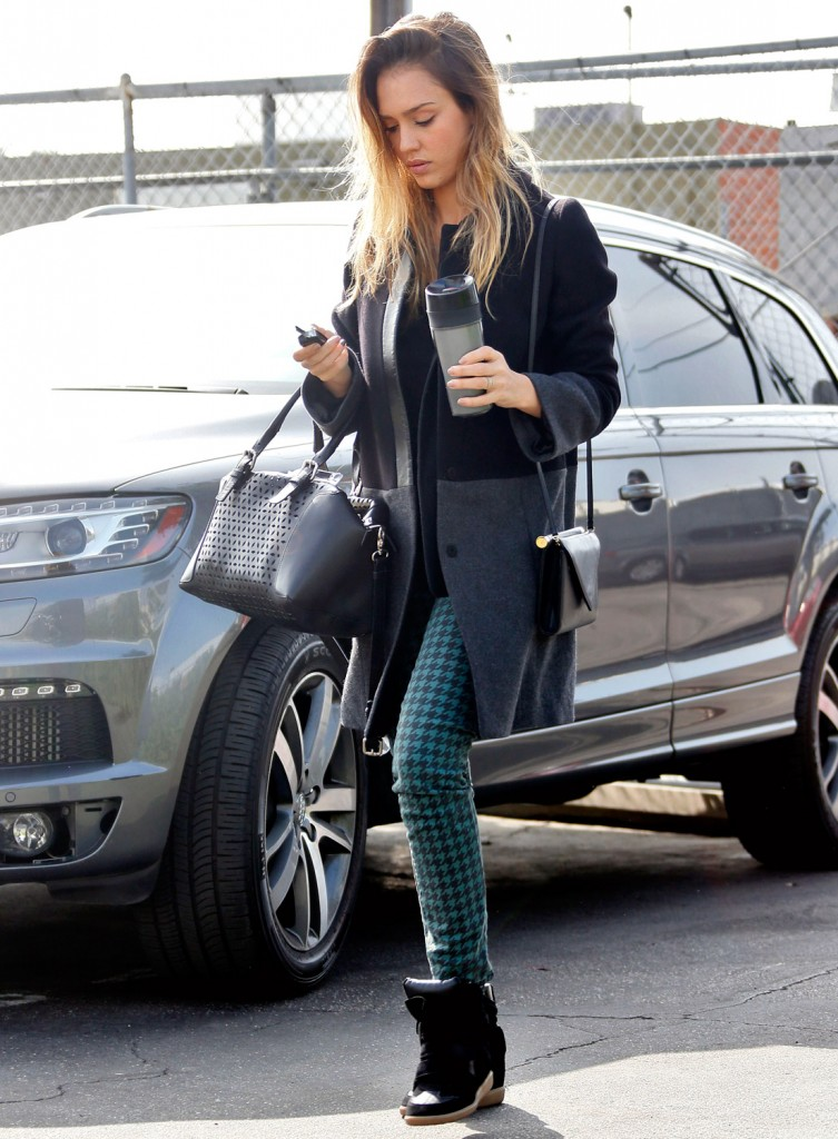 Celebrity style crush jessica alba crayons meet couture Jessica alba fashion and style